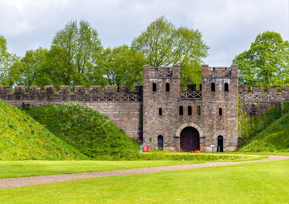 North Gate of Cardiff Castle - Wales